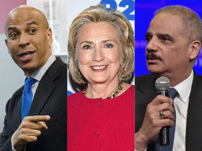 hillary-clinton-cory-booker-eric-holder